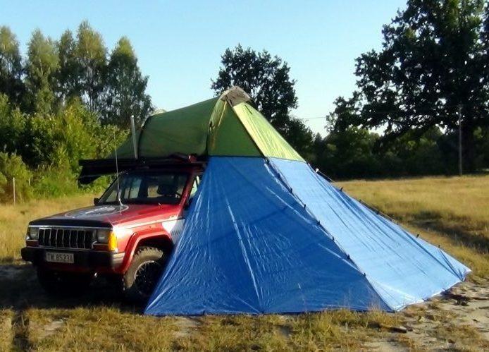 Najlepszy namiot dachowy? PolskiOffroad