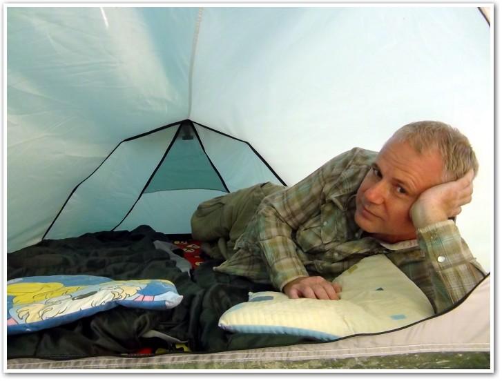 tani namiot dachowy własnej konstrukcji środek 4