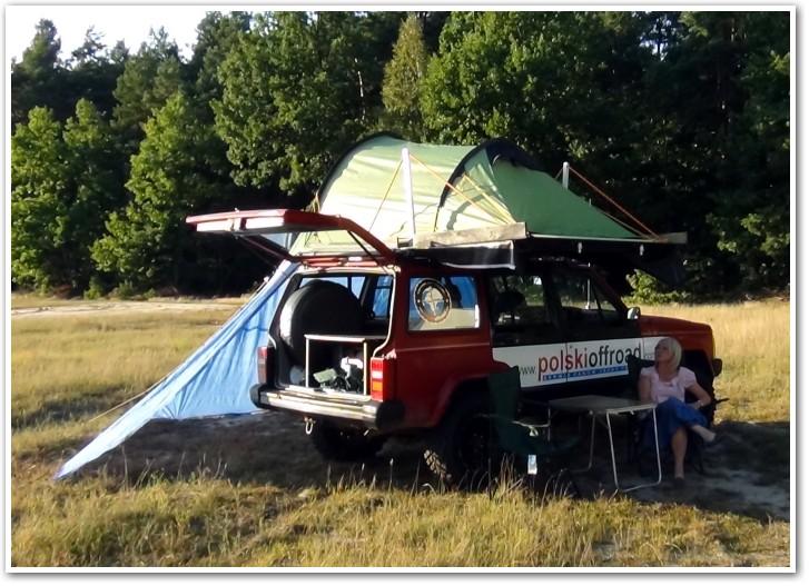 tani namiot dachowy własnej konstrukcji dodatkowe zadaszenie 1