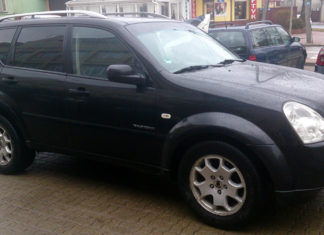 fabryczny SsangYong Rexton II