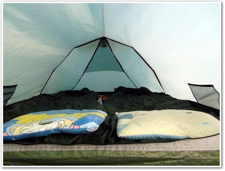 tani namiot dachowy własnej konstrukcji środek 1