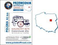 Przewodnik Offroad 13 trasa off road mazowieckie