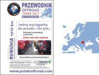 Przewodnik Offroad RO-1 trasa off road Rumunia Maramuresz Bukowina