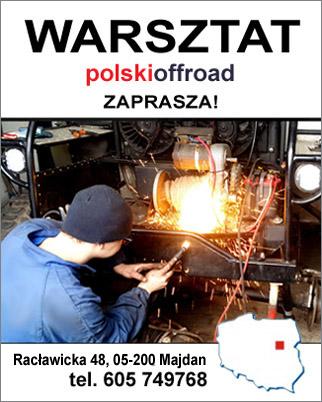 Warsztat Off Road Zaprasza!