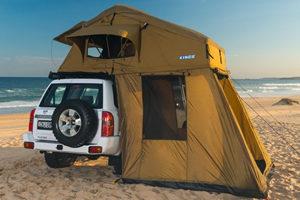 namiot dachowy 2-3 osobowy zprzedsionkiem